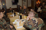 Representative Reyes having Breakfast with Seymour Personnel